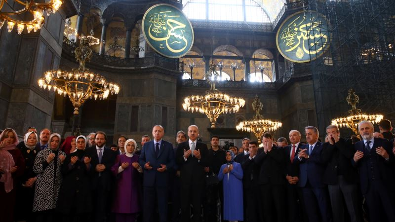 Aja Sofija - muzej ili džamija?
