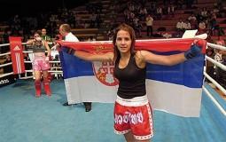 Ajla Lukač u finalu SP u kik-boksu