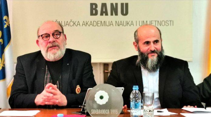 Akademik Mehmed Akšamija novi predsjednik BANU