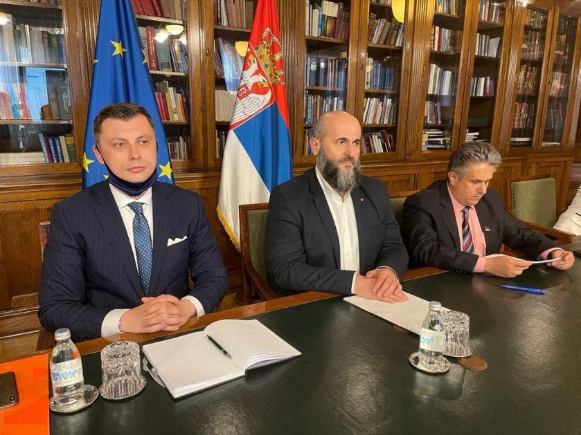 Akademik Zukorlić na konsultacijama sa predstavnicima EU Parlamenta o dijalogu između vlasti i opozicije