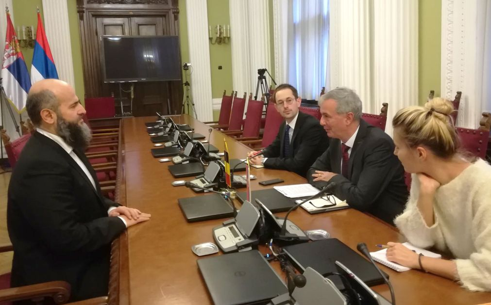 Akademik Zukorlić sa ambasadorom Belgije o Sandžaku