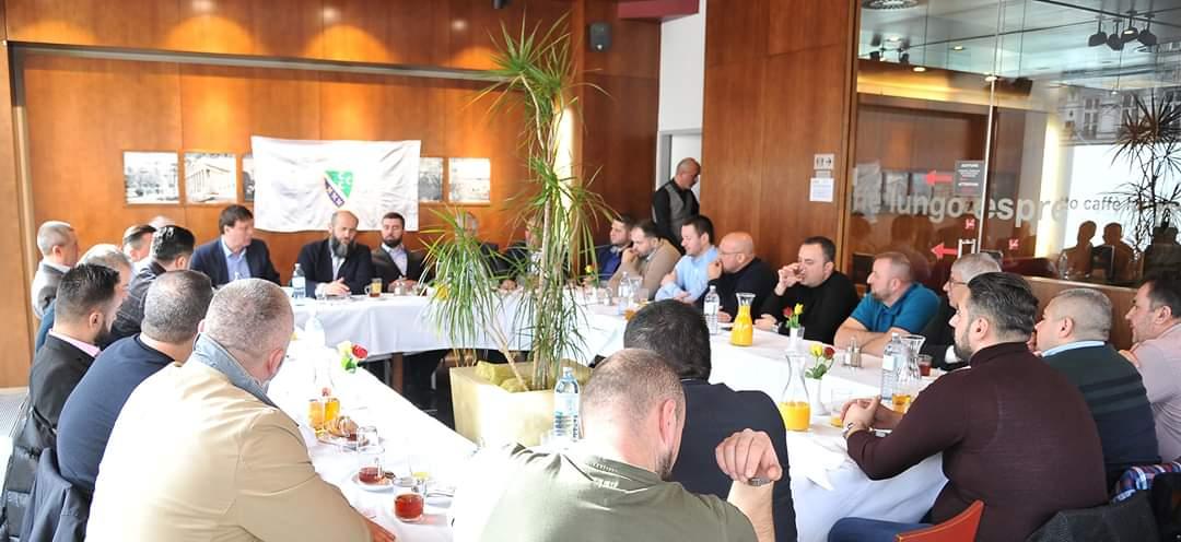 Akademik Zukorlić sa privrednicima u Beču