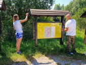 Akcija ČUVARA VLASINE: Farbali turističku signalizaciju