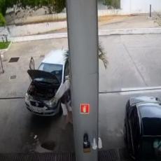 Ako vozite na plin, obratite pažnju - da vam se ovako nešto slučajno ne desi (VIDEO)