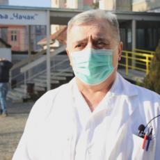 Alarmantno stanje u Čačku: Broj zaraženih se povećava, sve više inficiranih medicinskih radnika