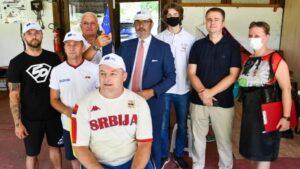 Amabasador Fabrici posetio trening srpskih paraolimpijaca