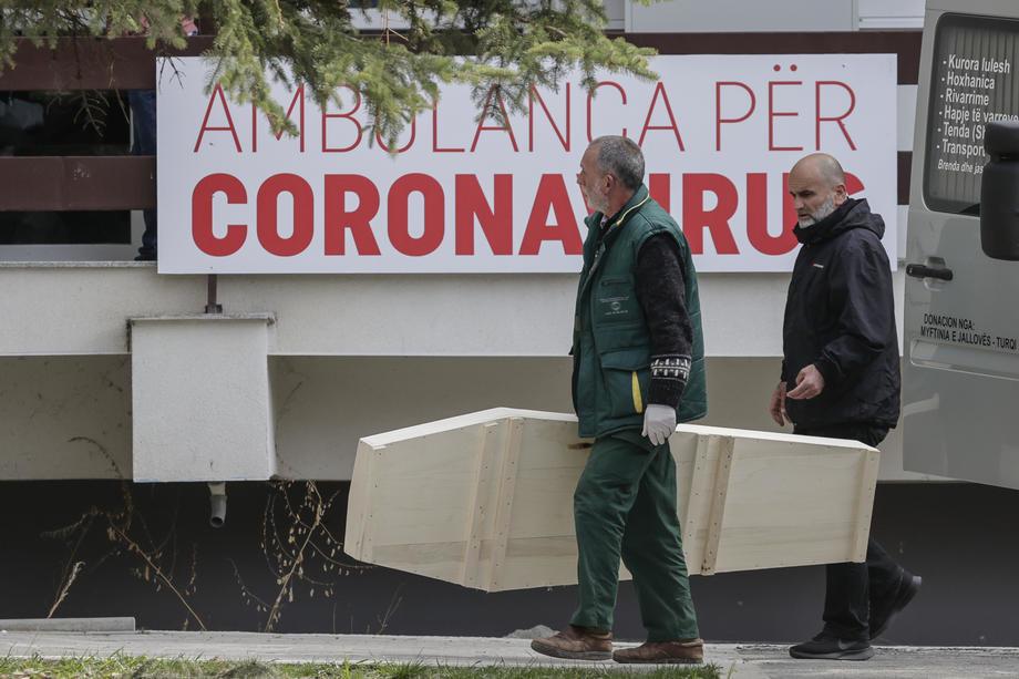 Ambasada SAD: Broj infekcija po glavi stanovnika na Kosovu među najvećim u svetu