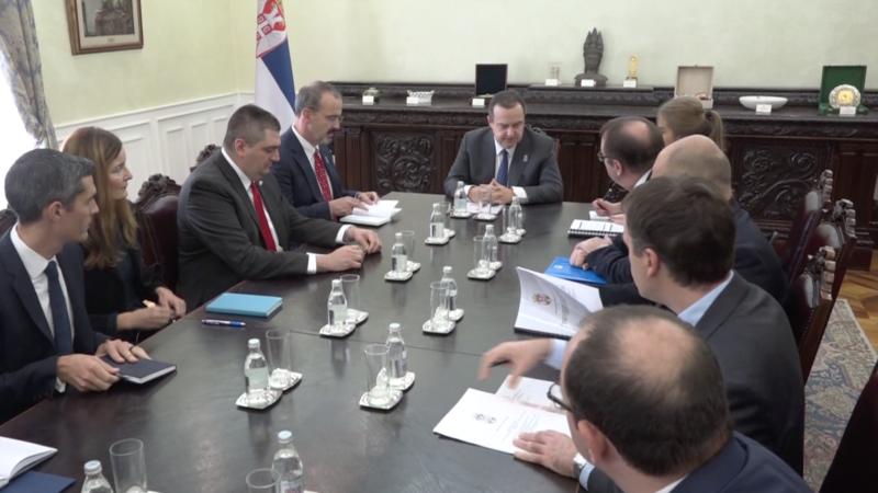 Ambasada SAD: Cilj posete Zarzeckog nije bio da se objavi odluka o sankcijama