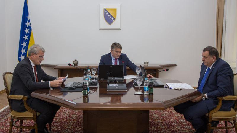 Ambasada SAD: Dogovor Predsjedništva BiH odblokiraće reforme odbrane