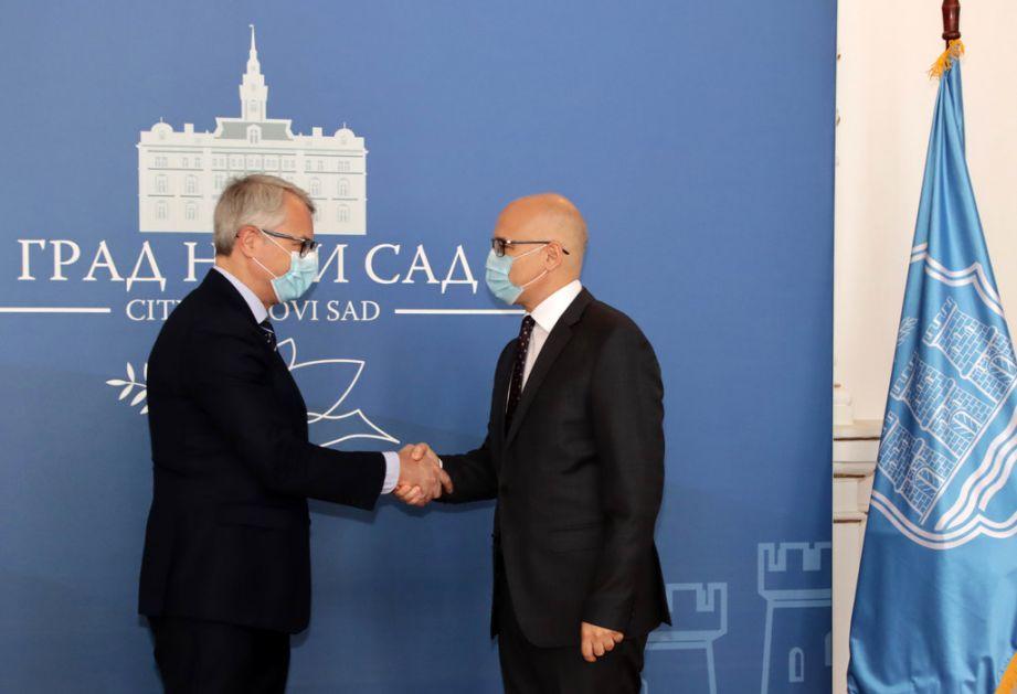 Ambasador Finske u poseti Novom Sadu