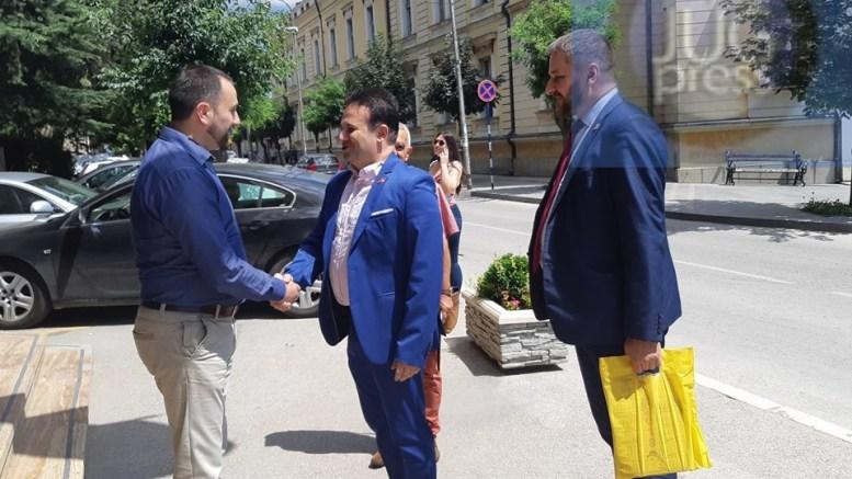Ambasador Makedonije Vasko Grkov u Vranju