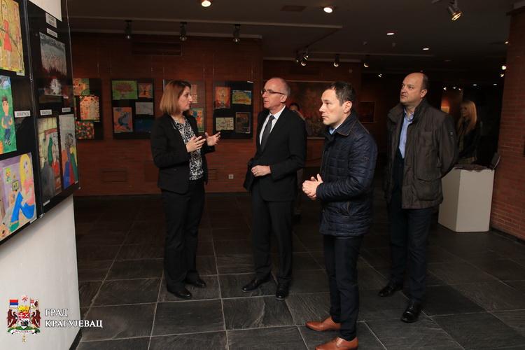 Ambasador Nemačke Tomas Šib posetio Spomen park Kragujevački oktobar