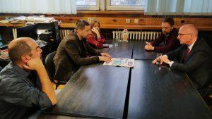 Ambasador Nemačke posetio redakciju Danasa