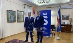Ambasador SAD posetio Šabac, raduje ga što se čuju različita mišljenja