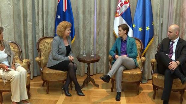 Ambsadorka Australije: Pozitivni signali Srbije investitorima
