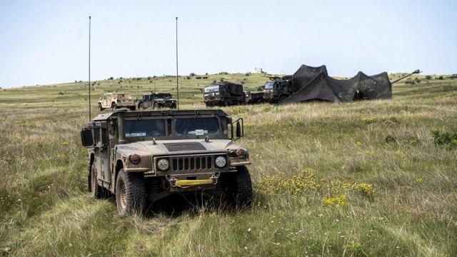 Američka vojna vozila krstare Republikom Srpskom VIDEO