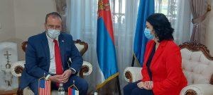 Američki ambasador otvorio laboratoriju za genetiku na Medicinskom fakultetu u Nišu