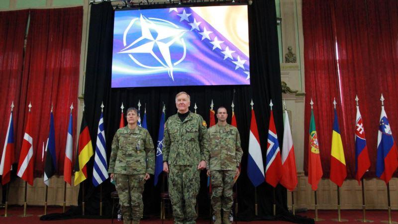 Američki general Edwards preuzeo dužnost komandanta NATO-a u Sarajevu