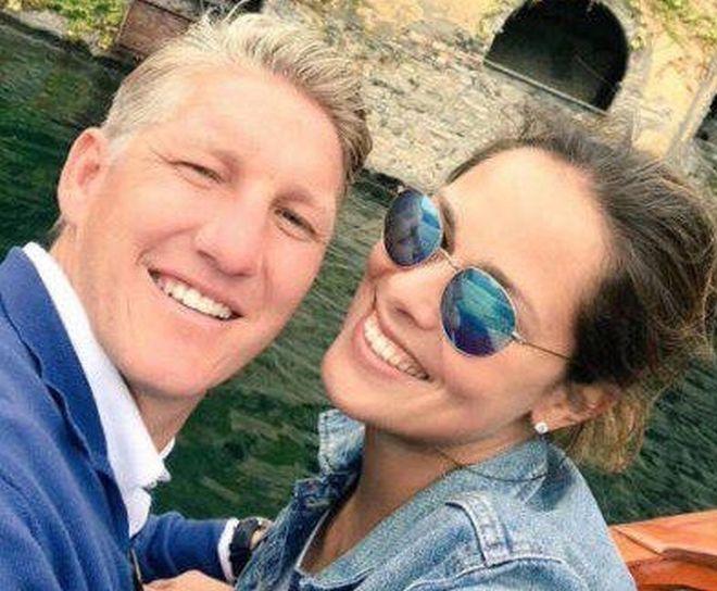 Ana Ivanović i Bastijan Švajnštajger: Godišnjica braka u Italiji (foto)