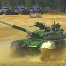 Anastasija, Marina i Darja voze tenk T-80, uništile su mušku konkurenciju i ušle u ISTORIJU RUSIJE (VIDEO)