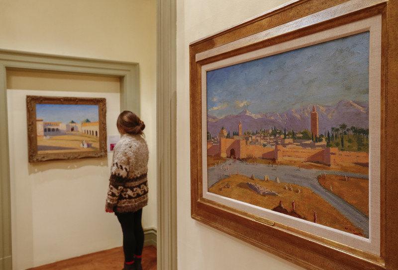 Anđelina Džoli prodala Čerčilovu sliku po rekordnoj ceni