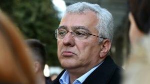 Andrija Mandić poslednji na listi kandidata za poslanike