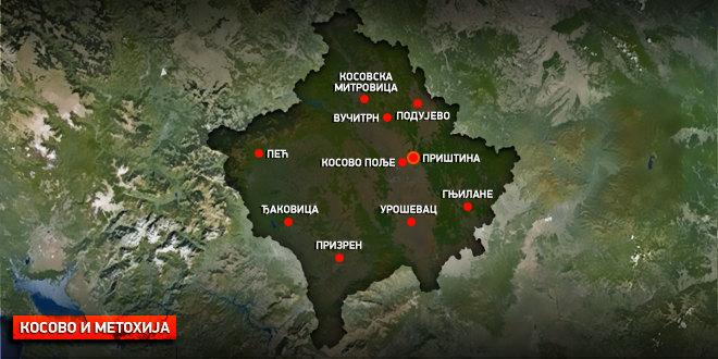 Anti-srpski grafiti u selu Gornje Kusce kod Gnjilana
