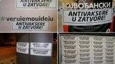 Antivakseri, marš iz Vojvodine FOTO