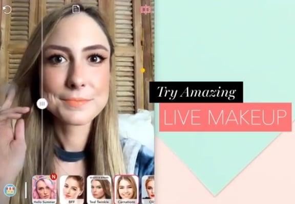 Aplikacija koja vam pomaže u šminkanju