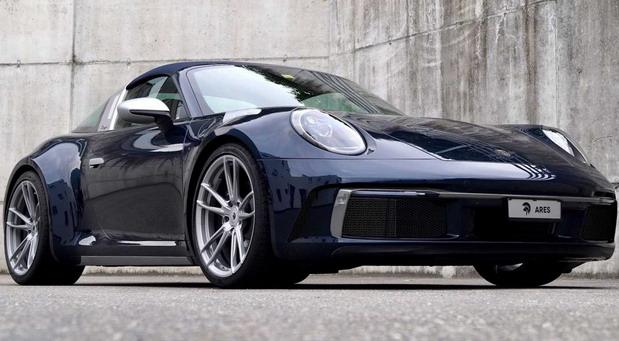 Ares Design Porsche 992 Targa Widebody