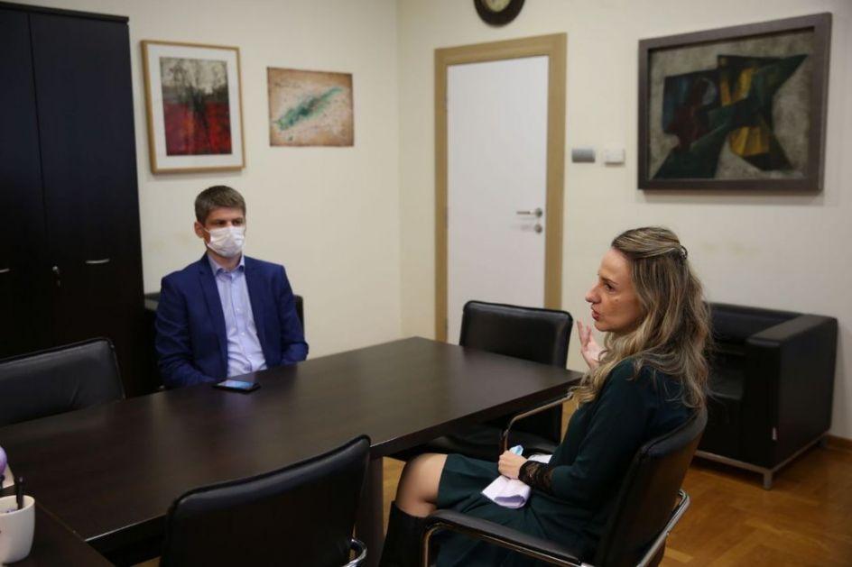 Arno Gujon u poseti KCNS: O Srbiji sam znao ono što su znali moj otac i deda, a to je da je Srbija prijateljska zemlja