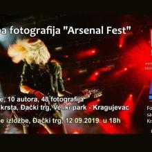 Arsenal fest - izlozba Foto-kluba Kragujevac