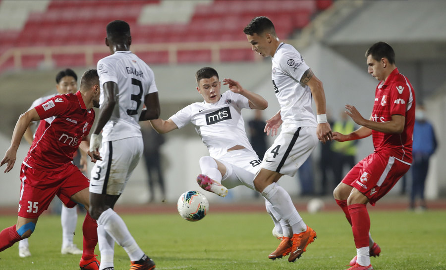 Asano i Holender doneli pobedu Partizanu protiv Radničkog