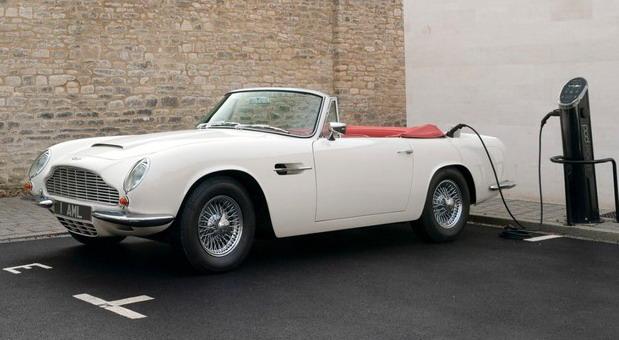 Aston Martin Heritage EV Concept je klasični automobil s elektromotorom