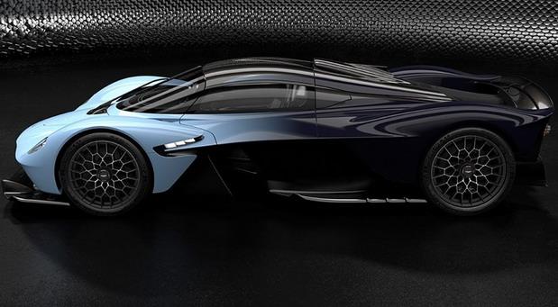Aston Martin Valkyrie: nove slike