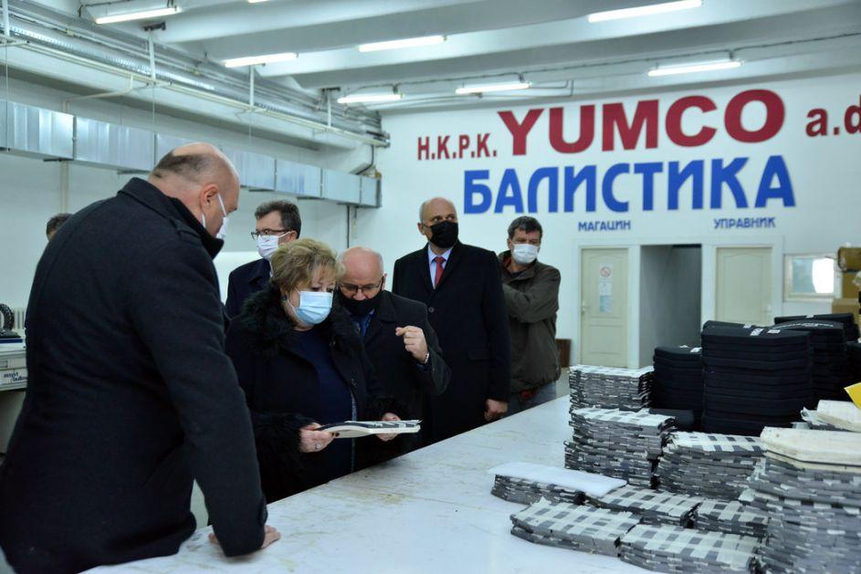 Atanasković: Ne žuriti sa privatizacijom Jumka, cilj naći dobrog kupca