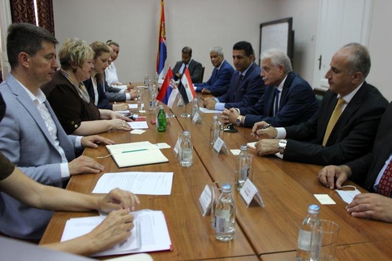 Atanasković o privrednoj saradnji Srbije i Egipta