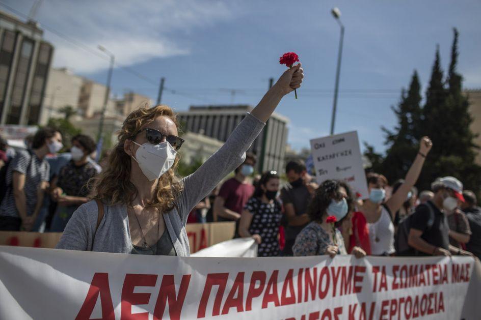 Atina: Protest radnika zbog novog zakona o radu