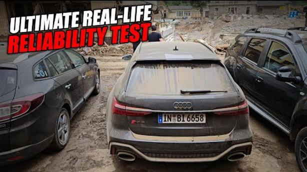 Audi nezadovoljan jer je Youtuber koristio RS6 Avant press vozilo da bi pomogao ljudima tokom poplava u Nemačkoj