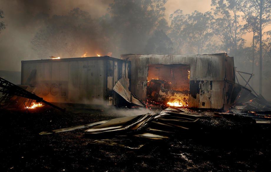 Australija: Požari se šire, zabeležene rekordne temperature (VIDEO)