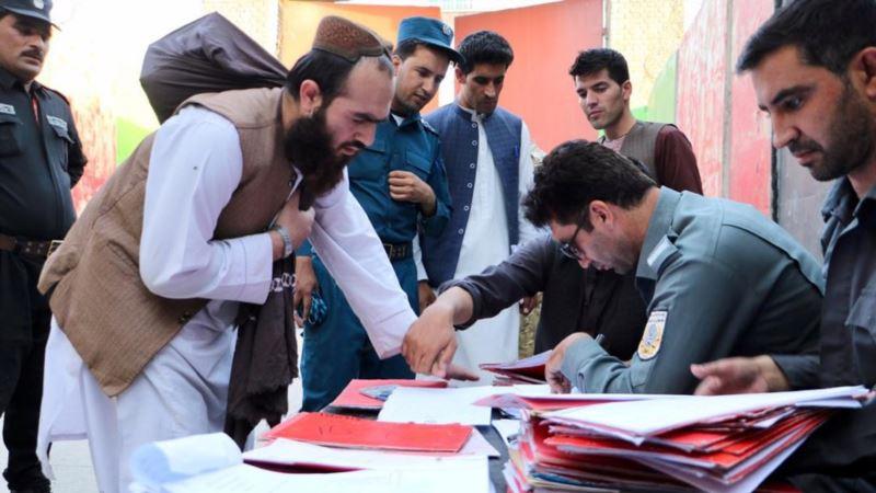 Avganistanske vlasti puštaju na slobodu poslednju grupu talibana
