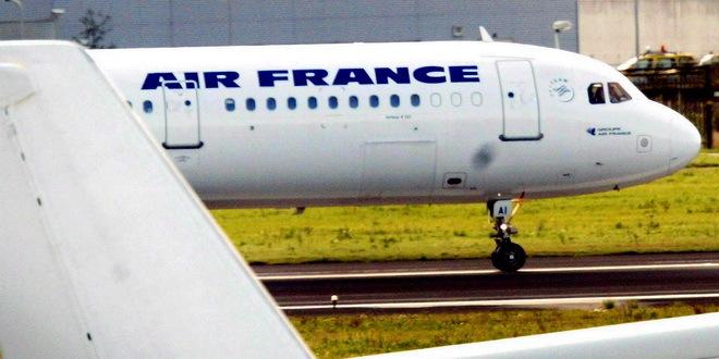 Avionu Er Fransa nije dozvoljeno da preleti deo Rusije