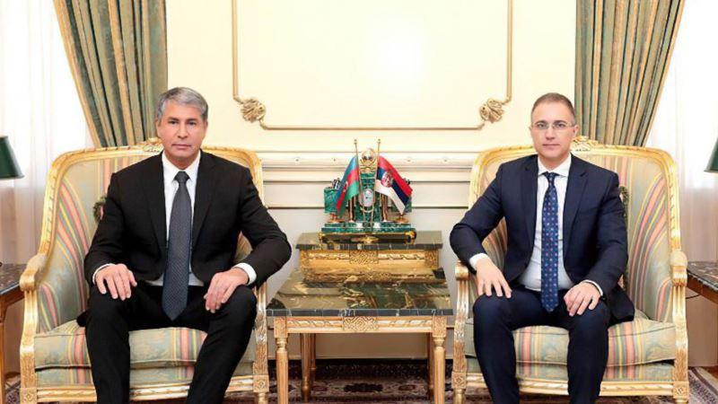 Azerbejdžan: Stefanović sa Ajvazovim o unapređenju saradnje