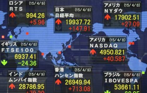 Azijska tržišta: MSCI Asia Pacific Index rekordno visoko
