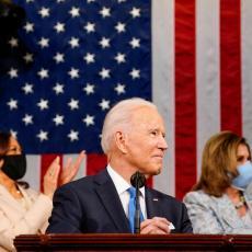 BAJDEN OBELEŽIO VAŽAN JUBILEJ: Govor američkog predsednika oduševio Kongres, posebno izdvojio dve teme (VIDEO)