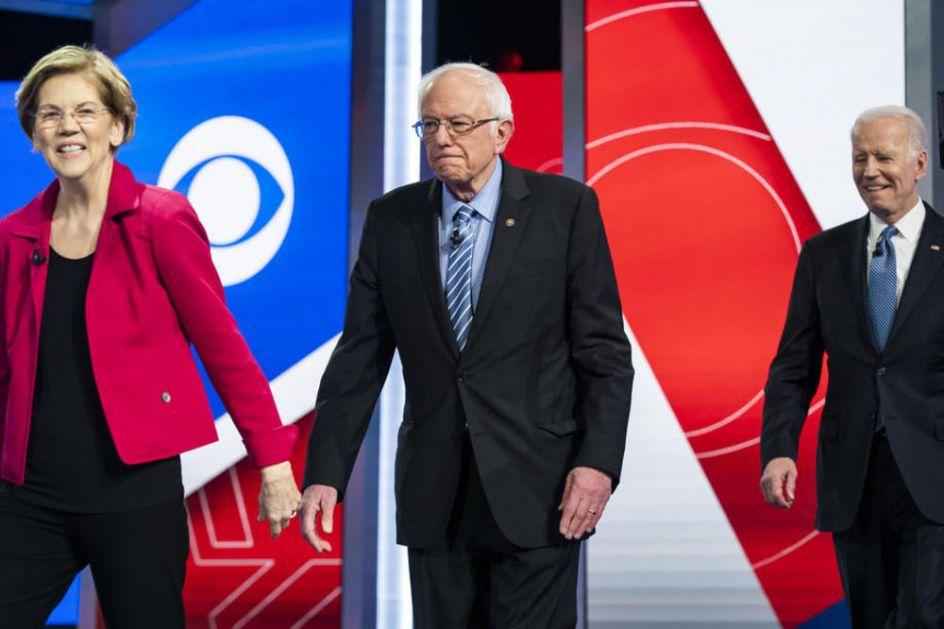BAJDEN POKAZAO PRAVO LICE: Levičari ga podržali u kampanji, a evo koliko sada računa na Vorenovu i Sandersa (VIDEO)