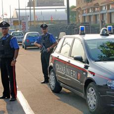 BANDA KRENULA U PLJAČKU PA IM POLICIJA OSUJETILA PLAN! Srbi pravili HAOS u Italiji - pokušali da pobegnu, a onda se slupali