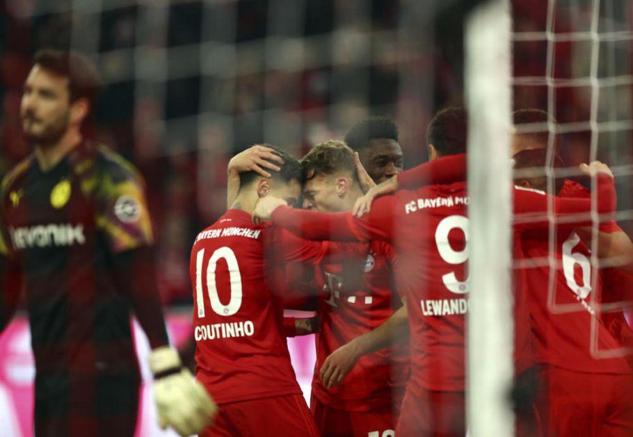 BAVARCI ISKALILI BES NA MILIONERIMA: Bajern UNAKAZIO Dorusiju iz Dortmunda u derbiju Bundeslige! (VIDEO)