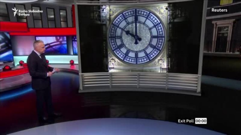 BBC objavljuje preliminarne rezultate izbora u Britaniji