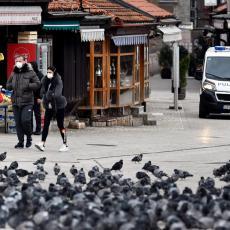 BELEŽI SE BLAGI PAD: U Kantonu Sarajevo manje novozaraženih nego juče